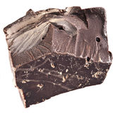 One chocolate block. Royalty Free Stock Image