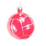 One christmas firtree toy ball Stock Photography