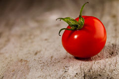 One chryy tomatoe Stock Image