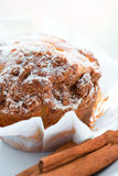 One Cinnamon muffin Royalty Free Stock Image