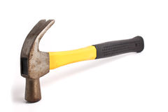 One claw hammer isolated on a plain white. One slaw hammer isolated on a plain white background Stock Images