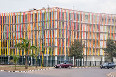 One of the cleanest cities in Africa, Kigali Royalty Free Stock Photo