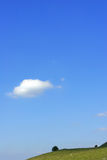 One Cloud Stock Image
