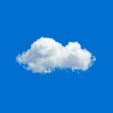 ONE cloud in a sky Royalty Free Stock Photo