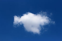 One cloud Royalty Free Stock Photo
