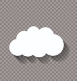 One cloud Royalty Free Stock Photos