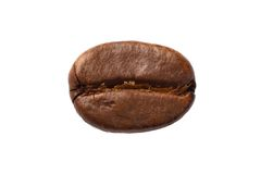 One coffee bean Stock Photo