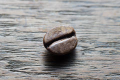 One Coffee Bean Royalty Free Stock Photography