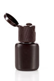 One of cosmetic bottles Stock Image