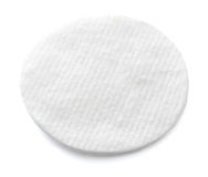 One cotton pad Royalty Free Stock Photos