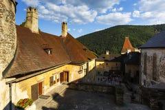 Orava castle, Slovakia. One of the courtyards of Orava castle in Slovakia stock photos