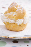 One Cream Puff Royalty Free Stock Image
