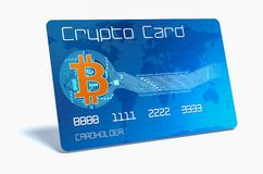 Crypto currency concept Stock Image