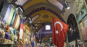 One day in the grand bazaar stock images