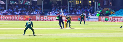 One Day International Cricket Match Between Austra Royalty Free Stock Photography