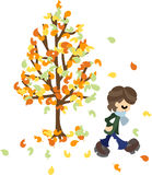 One day of the late fall Stock Images