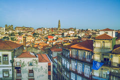 One day in Porto. 2014 stock photography