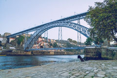 One day in Porto. 2014 stock photo