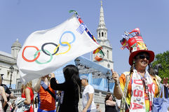 One day to London 2012 Olympics Royalty Free Stock Images