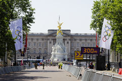 One day to London 2012 Olympics Royalty Free Stock Photography