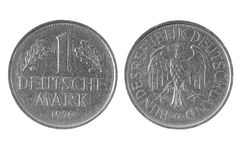 One deutsche mark, Germany coin 1979 Stock Image