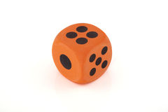 One dice Royalty Free Stock Photography