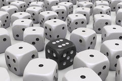 One Die is different Stock Photography