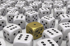 One Die is different Stock Photos