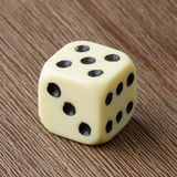 One die isolated Stock Photos
