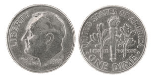One dime Stock Photo