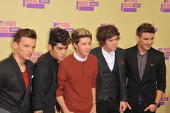 One Direction. At the 2012 MTV Video Music Awards at Staples Center, Los Angeles. September 6, 2012  Los Angeles, CA Picture: Paul Smith / Featureflash Stock Photography