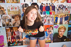 One Direction Craze Stock Images