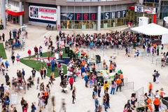 One Direction Fans Gillette Stadium Foxboro MA Stock Image