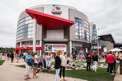 One Direction Fans Gillette Stadium Foxboro MA Royalty Free Stock Photo