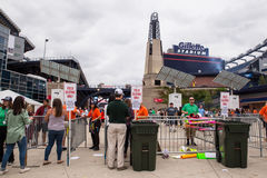 One Direction Fans Gillette Stadium Foxboro MA Royalty Free Stock Photos