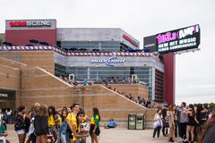One Direction Fans Gillette Stadium Foxboro MA Stock Photography