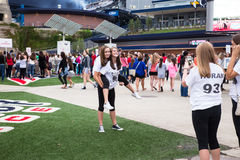 One Direction Fans Gillette Stadium Foxboro MA Stock Images
