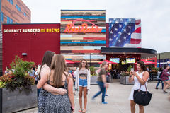 One Direction Fans Gillette Stadium Foxboro MA Royalty Free Stock Images