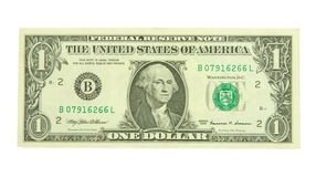 One dollar Stock Photography