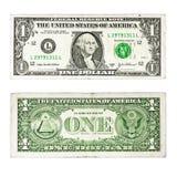 One dollar Royalty Free Stock Photo