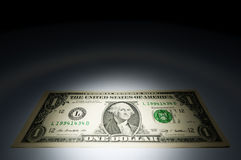One dollar bank note Stock Photography