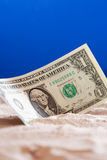 One Dollar Bank Note Stock Photo
