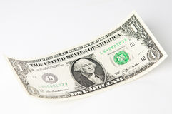 One Dollar banknote closeup Stock Image