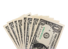 One dollar banknote Royalty Free Stock Photos