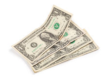One dollar banknotes Stock Photography