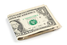 One dollar banknotes Stock Image