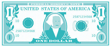 One Dollar Bill Stock Photos
