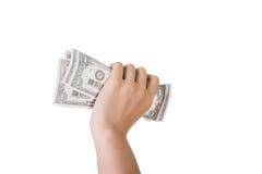 One dollar bill Royalty Free Stock Photos