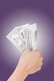 One dollar bill Stock Photos