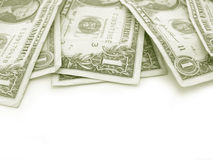 One dollar bills Stock Photo